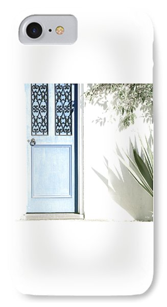The Blue Door IPhone Case by Holly Kempe