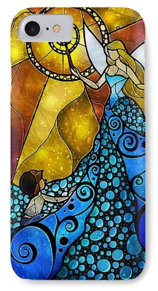 The Blue Fairy Phone Case by Mandie Manzano