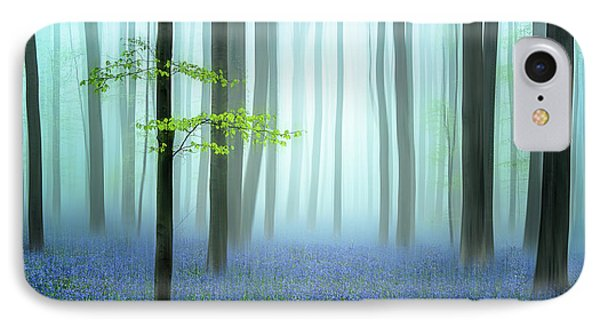 The Blue Forest ........ IPhone Case