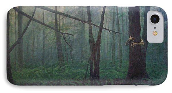 The Blue-green Forest Phone Case by Derek Van Derven