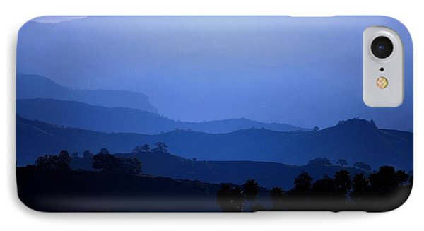 IPhone Case featuring the photograph The Blue Hills by Matt Harang