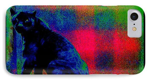 The Blue Jaguar IPhone Case