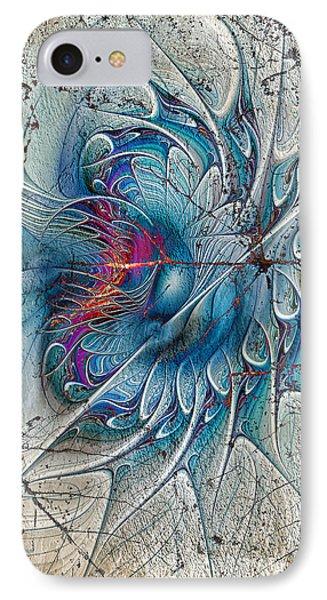 The Blue Mirage Phone Case by Deborah Benoit