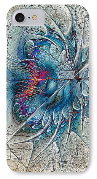 The Blue Mirage IPhone Case by Deborah Benoit