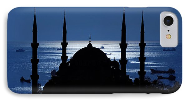 The Blue Mosque Phone Case by Ayhan Altun