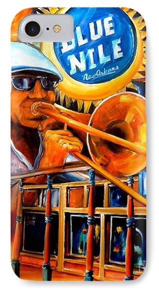 The Blue Nile Jazz Club Phone Case by Diane Millsap