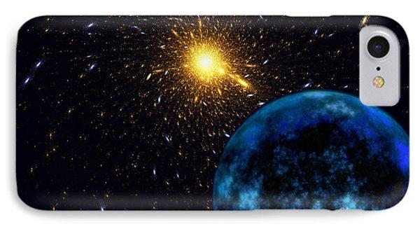 The Blue Planet Phone Case by Klara Acel