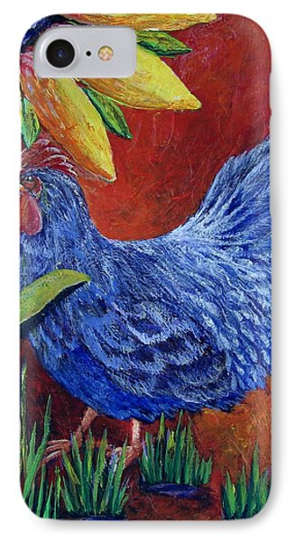 The Blue Rooster IPhone Case