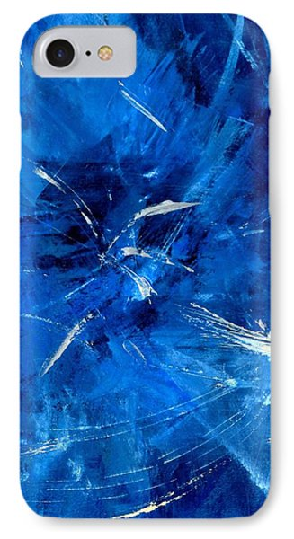 IPhone Case featuring the painting The Blues by Carolyn Repka