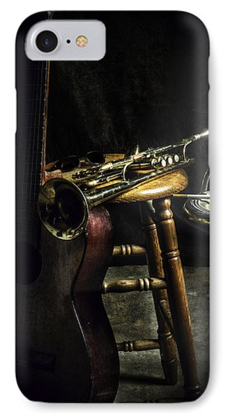 The Blues Player IPhone Case