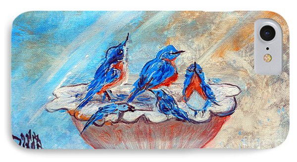 The Blues IPhone Case by Donna Dixon
