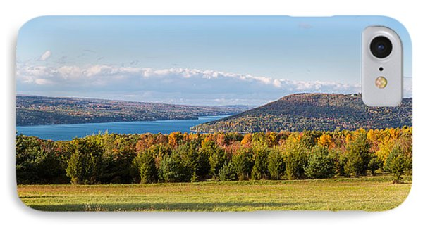 The Bluff On Keuka Lake In Autumn IPhone Case