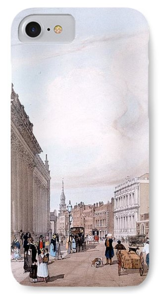 The Board Of Trade, Whitehall Phone Case by Thomas Shotter Boys
