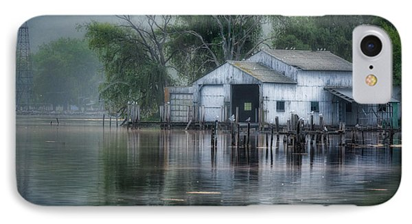 The Boathouse IPhone Case by Bill Wakeley