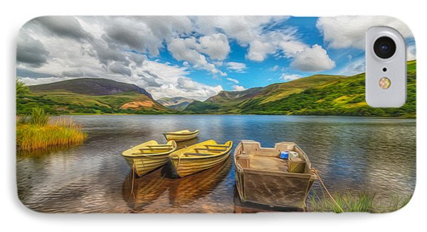 The Boats  Phone Case by Adrian Evans