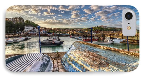 The Boats Of Folkestone IPhone Case by Tim Stanley