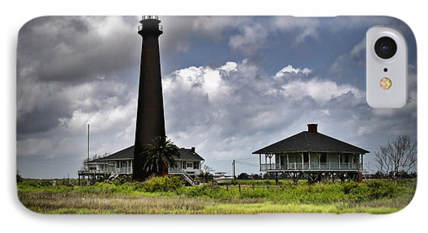 The Bolivar Lighthouse IPhone Case by Linda Unger