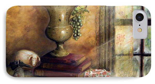 The Books By The Window Phone Case by Sandra Aguirre
