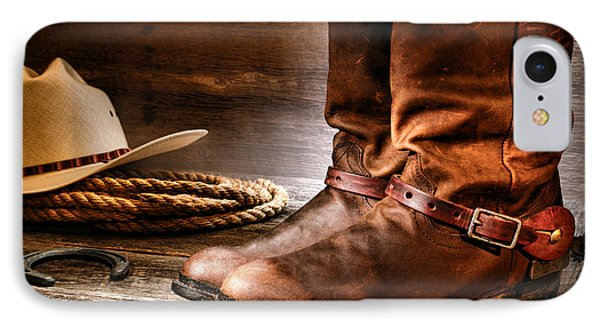 The Boots IPhone Case by Olivier Le Queinec