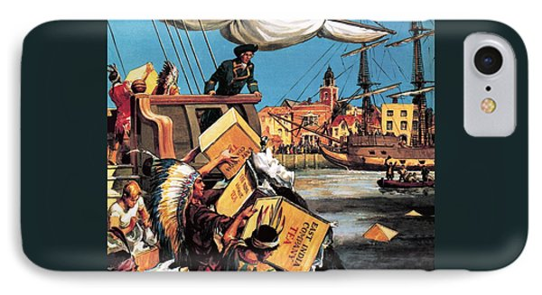 The Boston Tea Party IPhone Case