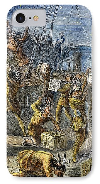 The Boston Tea Party IPhone Case by Granger