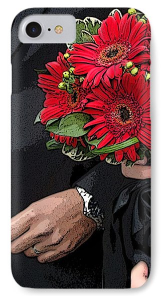 IPhone Case featuring the photograph The Bouquet by Zinvolle Art