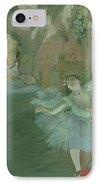 The Bow Of The Star IPhone Case by Edgar Degas