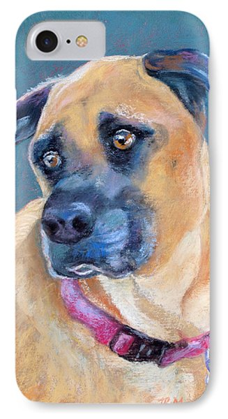The Boxer IPhone Case by Julie Maas