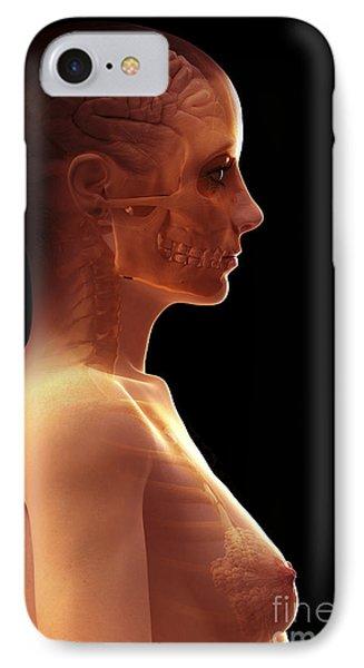 The Brain Female IPhone Case