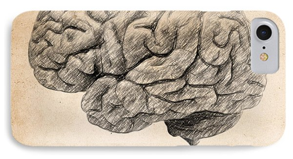 The Brain Is Wider Than The Sky Phone Case by Taylan Apukovska