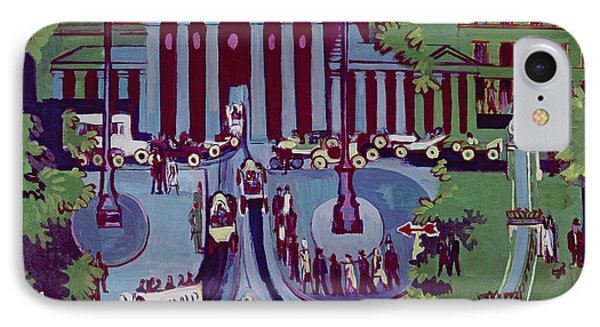 The Brandenburg Gate Berlin Phone Case by Ernst Ludwig Kirchner