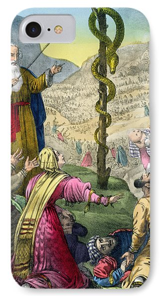 The Brazen Serpent, From A Bible IPhone Case