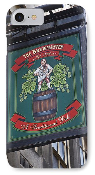 The Brewmaster Pub IPhone Case by Cheri Randolph