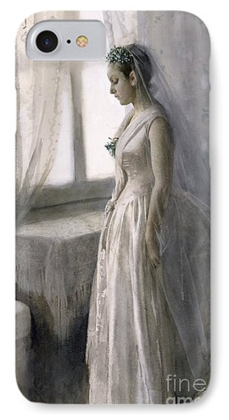 The Bride Phone Case by Anders Leonard Zorn