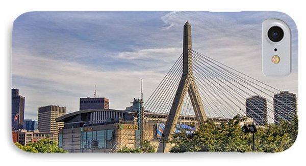 The Bridge And The Arena - Boston IPhone Case by Joann Vitali
