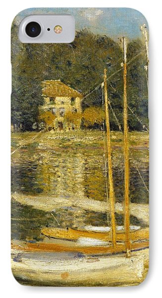 The Bridge At Argenteuil Phone Case by Claude Monet