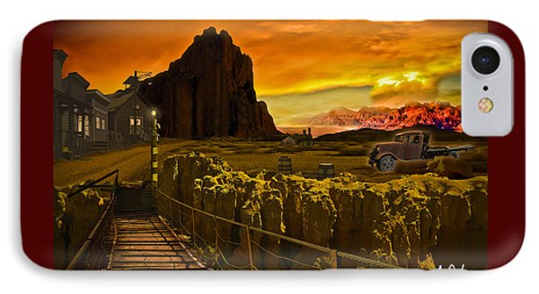 The Bridge Phone Case by Gerry Robins