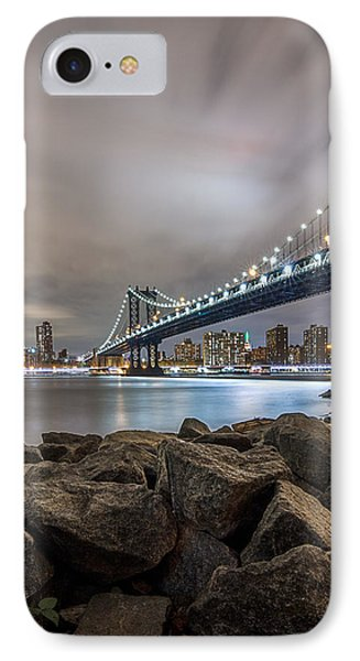 IPhone Case featuring the photograph The Bridge Of 2 Cities by Anthony Fields