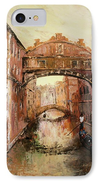 The Bridge Of Sighs Venice Italy IPhone Case by Jean Walker