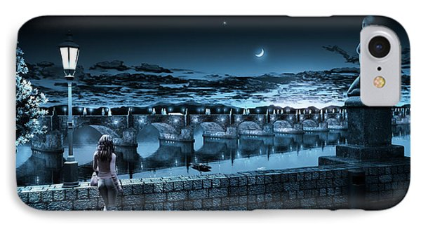 The Bridge Of Yesterday IPhone Case by Shinji K