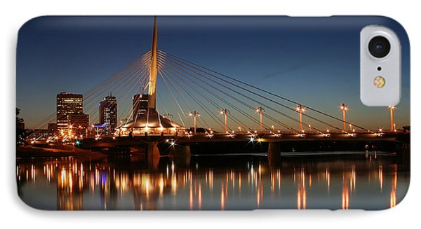 The Bridge Over Calm Waters Phone Case by Teresa Zieba