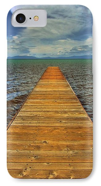 The Bridge To Nowhere And Everywhere IPhone Case by Brad Scott