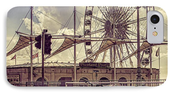 IPhone Case featuring the photograph The Brighton Wheel by Chris Lord