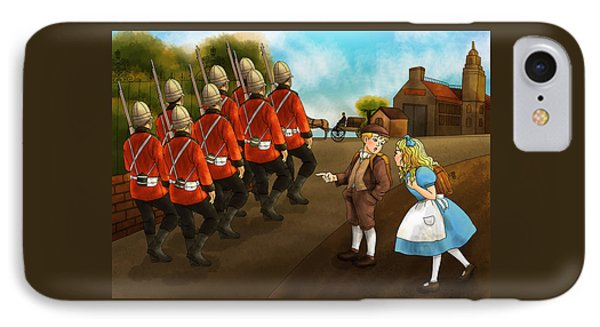 The British Soldiers IPhone Case