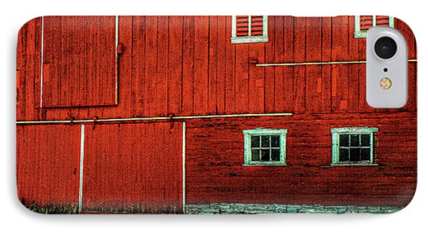 The Broad Side Of A Barn Phone Case by Lois Bryan