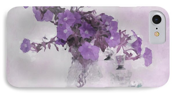 The Broken Branch - Digital Watercolor IPhone Case by Sandra Foster