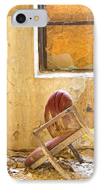 The Broken Chair Phone Case by Carolyn Fox