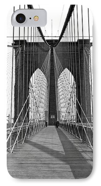 The Brooklyn Bridge Phone Case by Underwood Archives