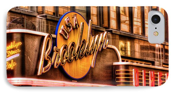 The Brooklyn Diner And Cafe 001 IPhone Case