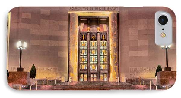 The Brooklyn Public Library Phone Case by JC Findley